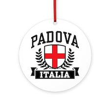 Padova Italia Ornament (Round)
