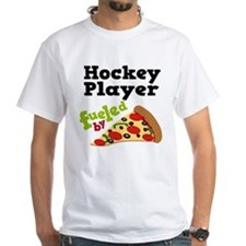 Hockey Player Pizza Shirt