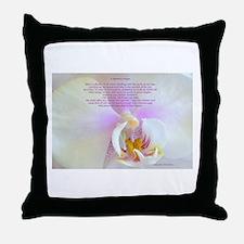 """A Mother's Prayer"" Photo Poster Throw Pillow"
