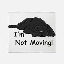Newfie Carpet Throw Blanket