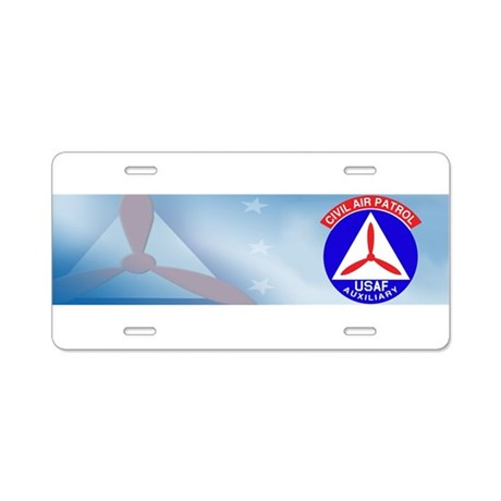 CAP Seal Aluminum License Plate