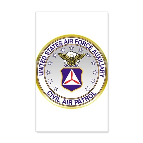 CAP Crest 35x21 Wall Decal