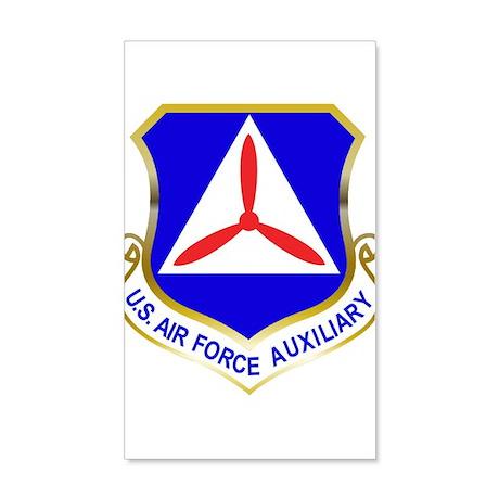 Civil Air Patrol Shield 35x21 Wall Decal
