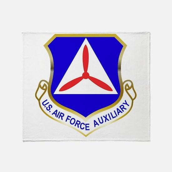 Civil Air Patrol Shield Throw Blanket
