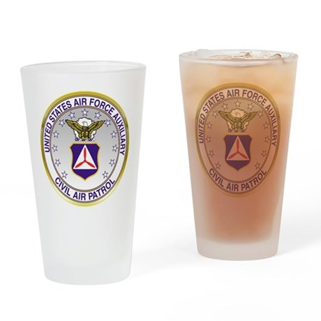 CAP Crest Drinking Glass