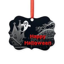 Haunted House Halloween Ornament