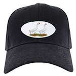 White African Geese Black Cap