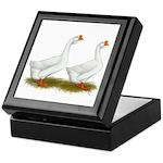 White African Geese Keepsake Box