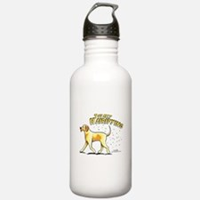 Yellow Lab Hairifying Water Bottle