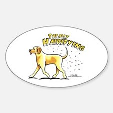 Yellow Lab Hairifying Decal