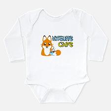 Kitsune Cafe Long Sleeve Infant Bodysuit