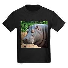 Hippo Two Ash Grey T-Shirt T-Shirt