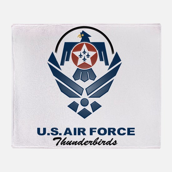 USAF Thunderbird Throw Blanket