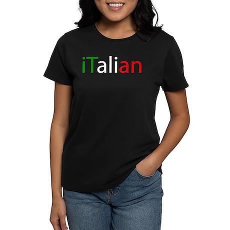 iTalian Women's Dark T-Shirt