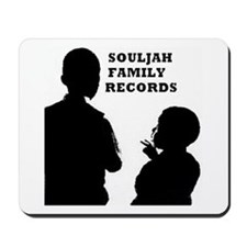 SOULJAH FAMILY RECORDS Mousepad