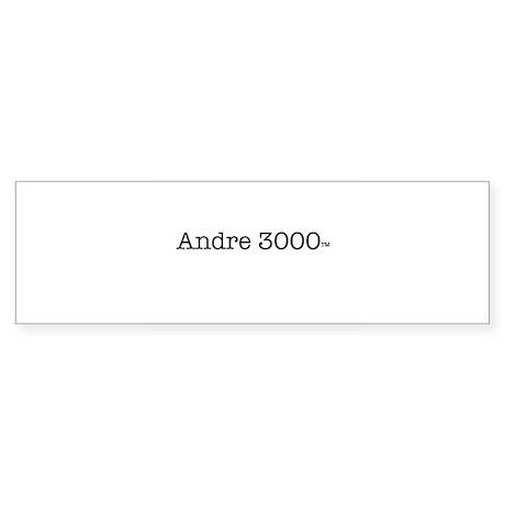 Andre 3000 Sticker (Bumper)