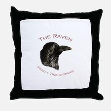 The Raven Throw Pillow