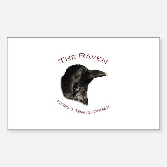 The Raven Sticker (Rectangle)