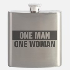 One Man One Woman Flask
