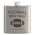 TOP Football Slogan Flask