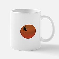 sandhill crane walking on air Mug