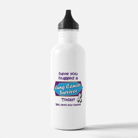 Hug a Survivor! Water Bottle