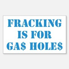 FRACKING IS... Sticker (Rectangle)