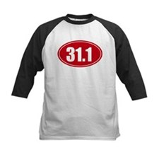 31.1 50k oval red decal sticker Tee