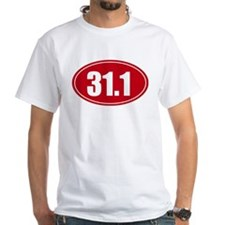 31.1 50k oval red decal sticker Shirt