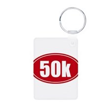 50k 31.1 red oval decal sticker Keychains