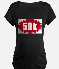 50k 31.1 red oval decal sticker T-Shirt