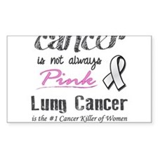 Not Always Pink! Decal