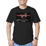 KCEP-FM 40th Anniversary Men's Fitted T-Shirt (dar
