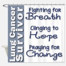 Breathe-Hope-Change Lung Cancer Survivor Shower Cu