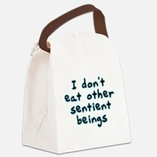 Sentient beings - Canvas Lunch Bag