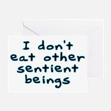 Sentient beings - Greeting Card