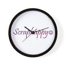 Scraphappy Wall Clock