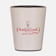 Purgatory Golf Club logo Shot Glass