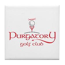 Purgatory Golf Club logo Tile Coaster