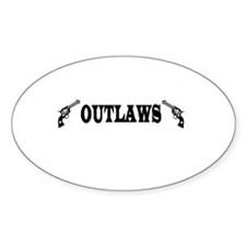 Cute Outlaw Decal