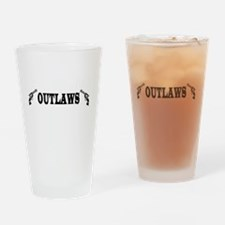 Cute Outlaw Drinking Glass