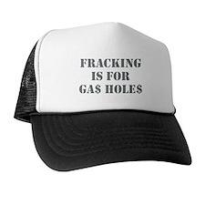 FRACKING.png Trucker Hat