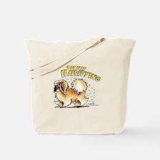 Pekingese Hairifying Tote Bag