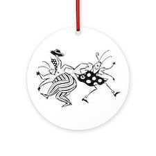 Sloane Jitterbugs Ornament (Round)