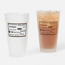 Picture This Words and Phrases Drinking Glass