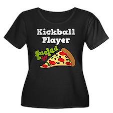 Kickball Player Funny Pizza T