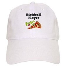 Kickball Player Funny Pizza Cap