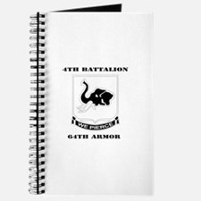 DUI - 4th Bn 64th Armor with Text Journal