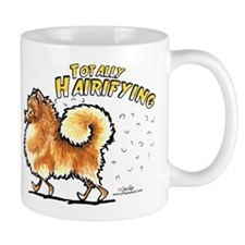 Pomeranian Hairifying Mug