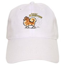 Pomeranian Hairifying Baseball Cap